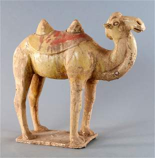 Sui-camel, China, Sui Dynasty (589-618 AD.), Light