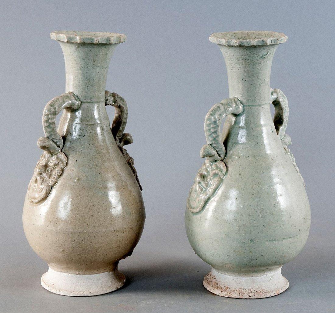 Rare pair Henkel Vases, China, Song Dynasty (960-1279