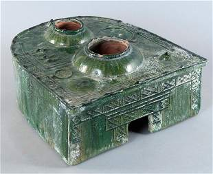 Model of a hearth as grave goods for the continuation