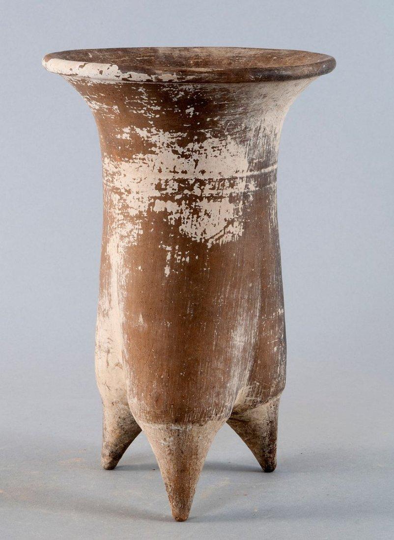 "Neolithic legged vessel ""Li ,"" China, Lower Xiajiadian"