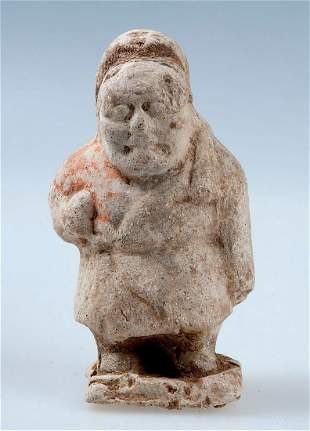 Figure, a dwarf as an entertainer, China, Tang Dynasty