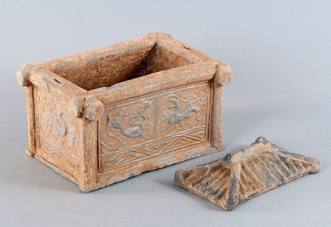 Model of a fountain, China, Han Dynasty (206 BC to 220
