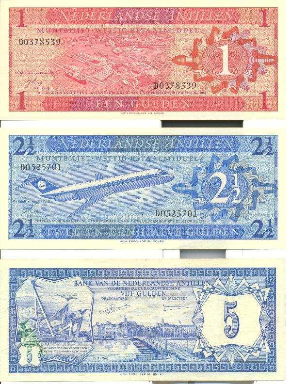 1: Collectible World Currency - Netherland Antilles