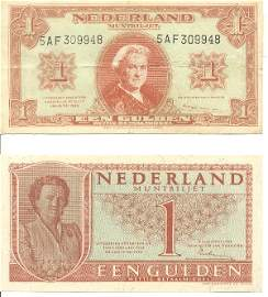 2: Collectible World Currency - Netherlands Banknotes