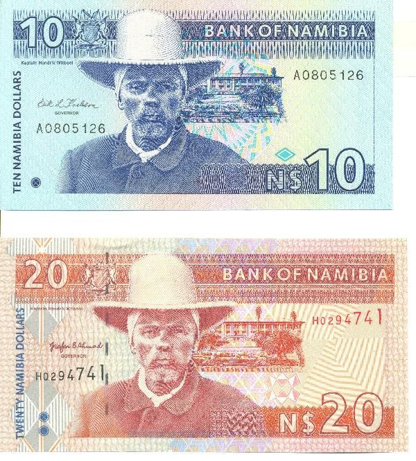 4: Collectible World Currency - Namibia Banknotes