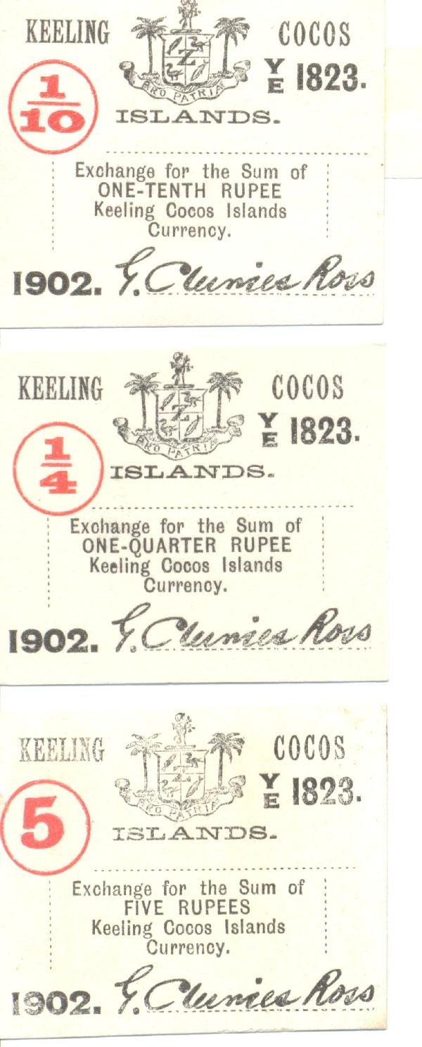 19: Collectible World Currency - Keeling Cocos Islands
