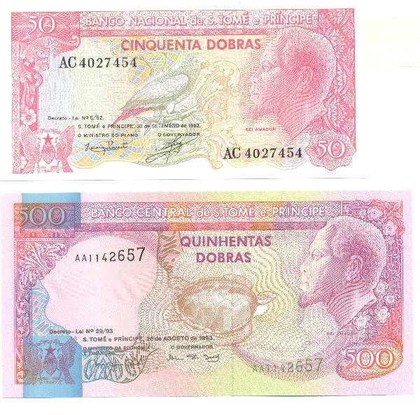 24: Collectible World Currency - St. Thomas & Prince Ba