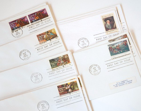 1: 16 US First Day Cover Stamps from 1975