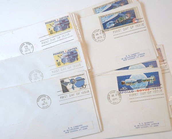 2: 19 US First Day Cover Stamps from 1975