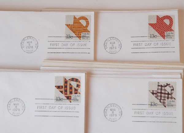 19: 51 US First Day Cover Stamps from 1978