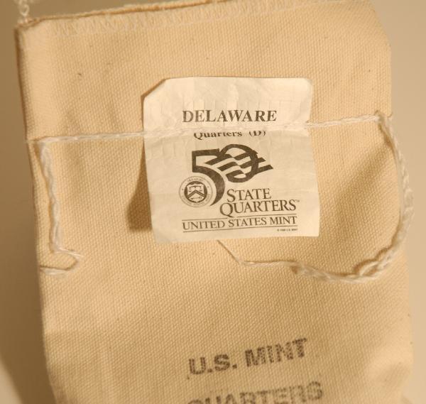 95: Unopened Bag of Delaware Quarters - Uncirculated