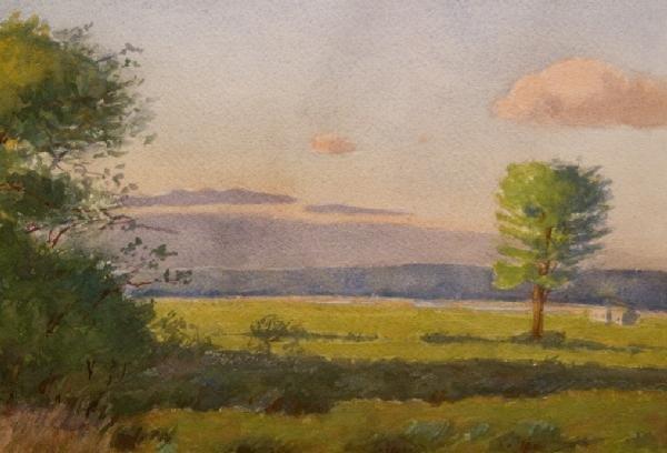 18: Oscar F Bluemner, American 1867-1938