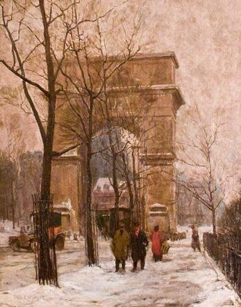 60A: Paul Cornoyer, American 1864-1923