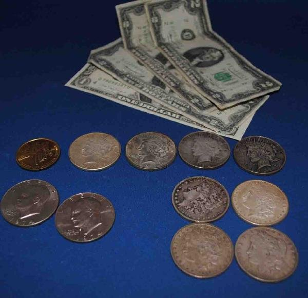 Assorted Coins & Currency