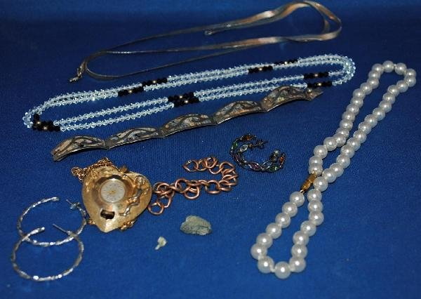 Costume and Sterling Silver Jewelry