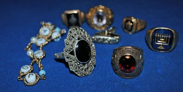 Gold Rings and Costume Jewelry
