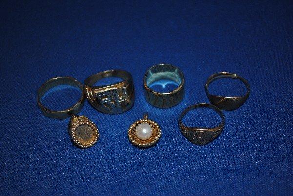 14K Gold Jewelry Pendant