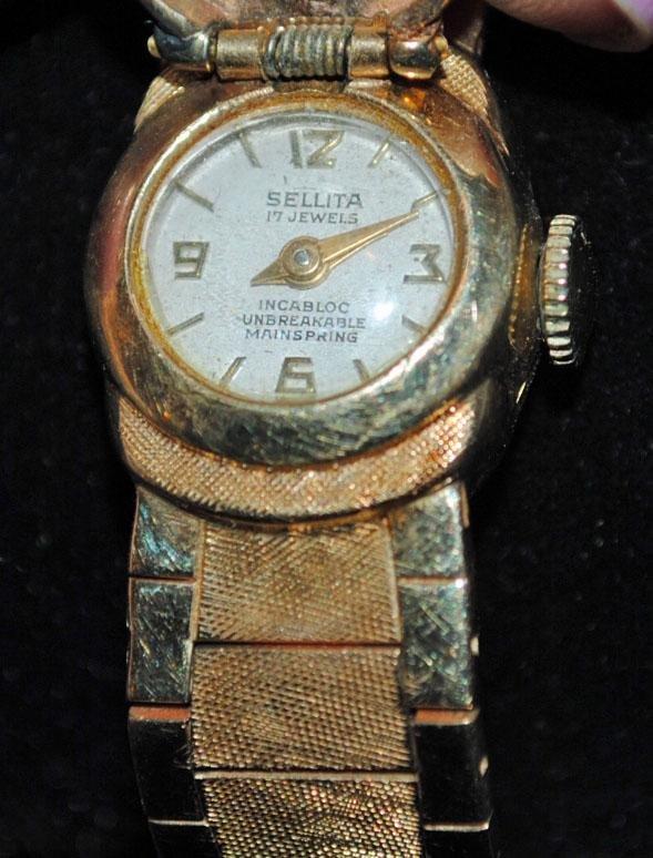 14K Gold Ladies Watch