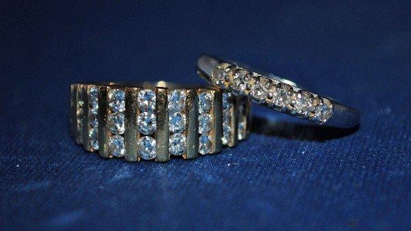 Gold Diamond Bands