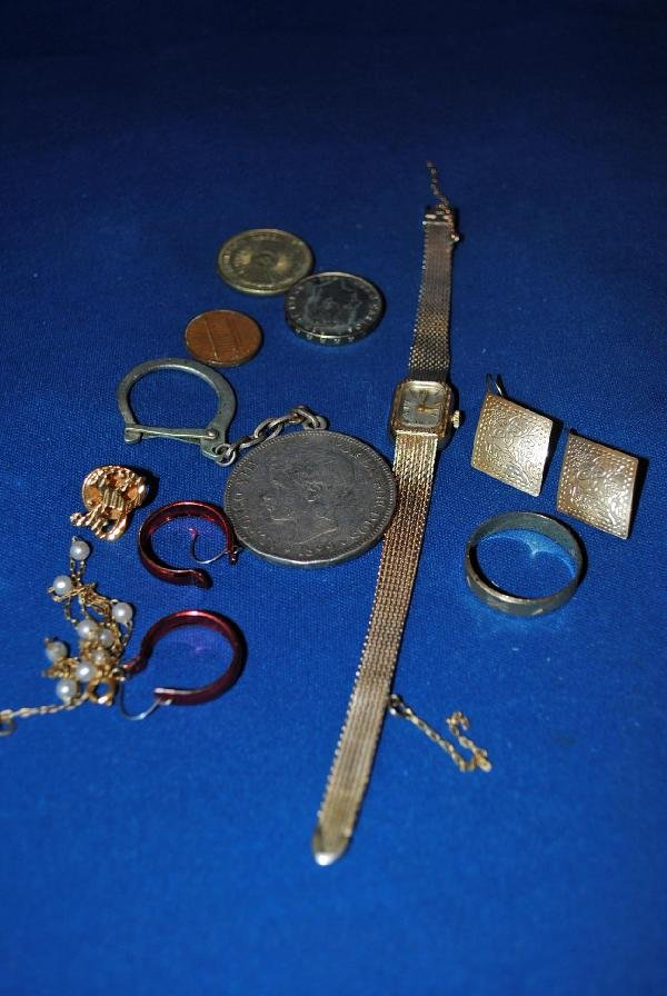 Assorted 14K Gold, Gold Filled Jewlry, Coins, etc...
