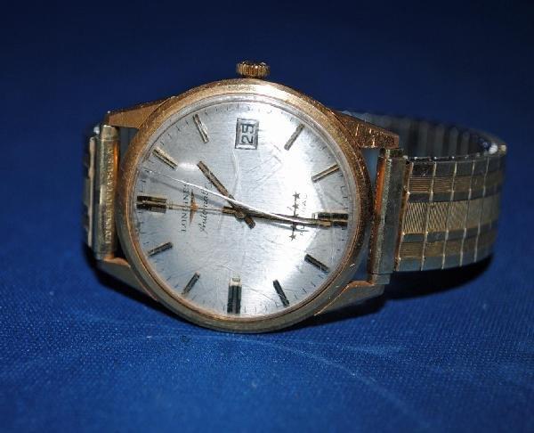 Longines Men's 18K Gold Admiral Wrist Watch