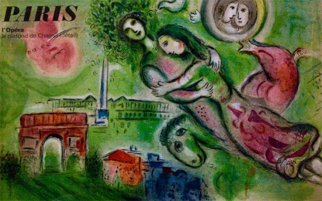 Marc Chagall (French 1998-1985) Poster
