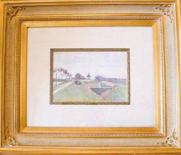 Ludovic Pissarro (French 1878-1952)