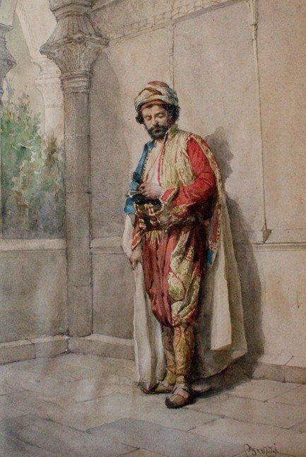 Arturo Buzzi (Italian 19th Century)