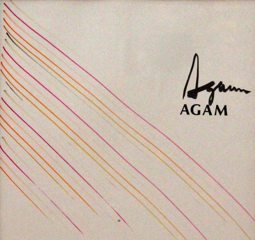 5: Yaacov (Gipstein) Agam  (1928 - )