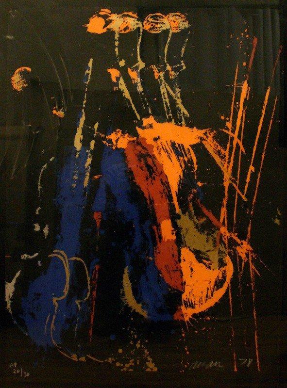 8: Pierre Fernandez (Armand) Arman  (1928 - 2005)