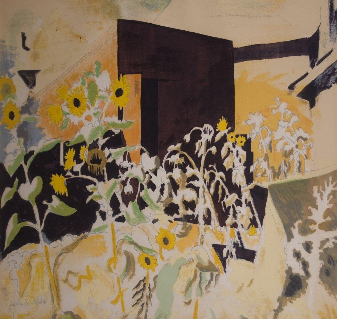 4: Charles Burchfield (American 1893 - 1967)