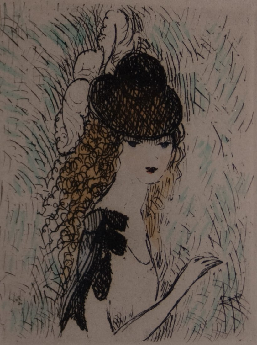 13: Marie Laurencin (French 1885 - 1956)