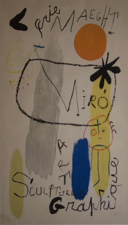 16: Joan Miro (Spanish 1893 - 1983)