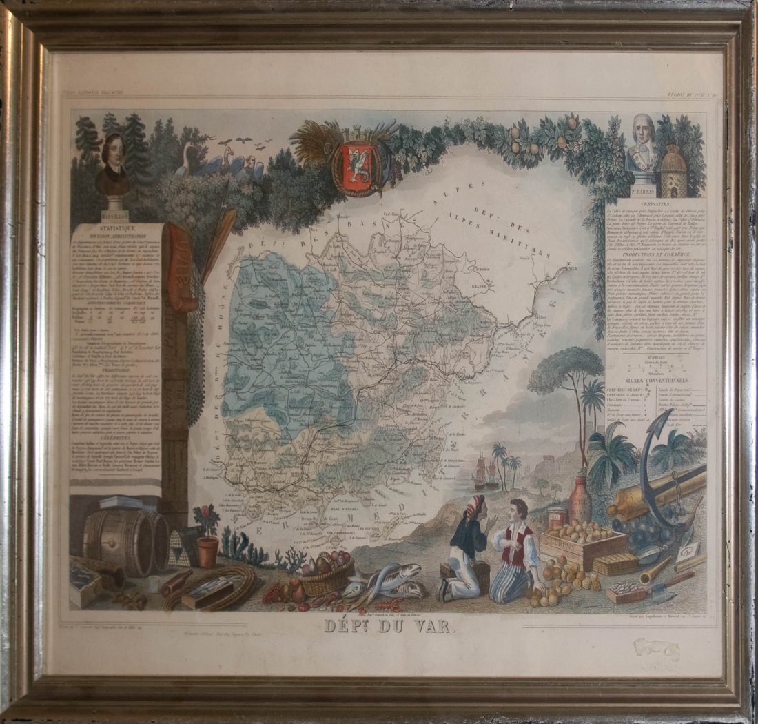 19: National Atlas Illustrations (French 18th Century)