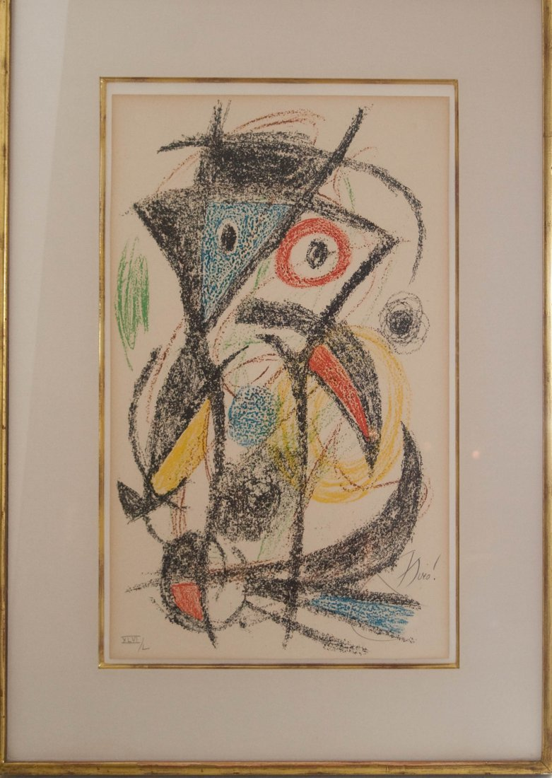 Joan Miro (Spanish 1893-1983)