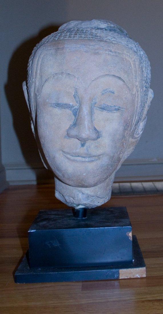 Head of Buddha (Cambodia 18th Century)
