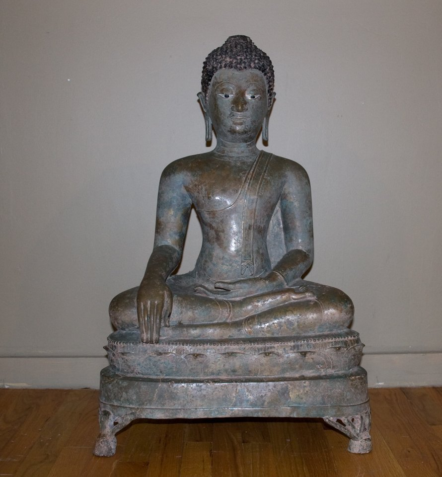 Sitting Buddha (Thailand 15th Century)