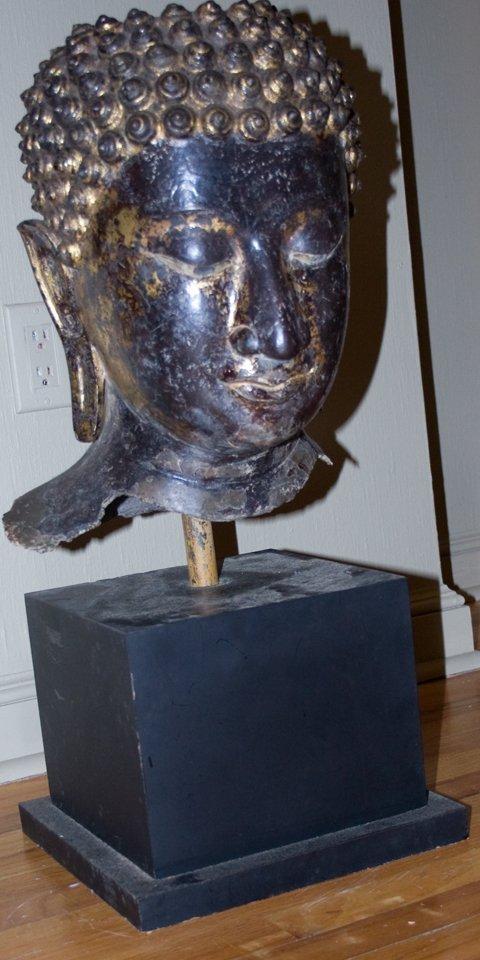 Head of Buddha (Cambodia 17th Century)