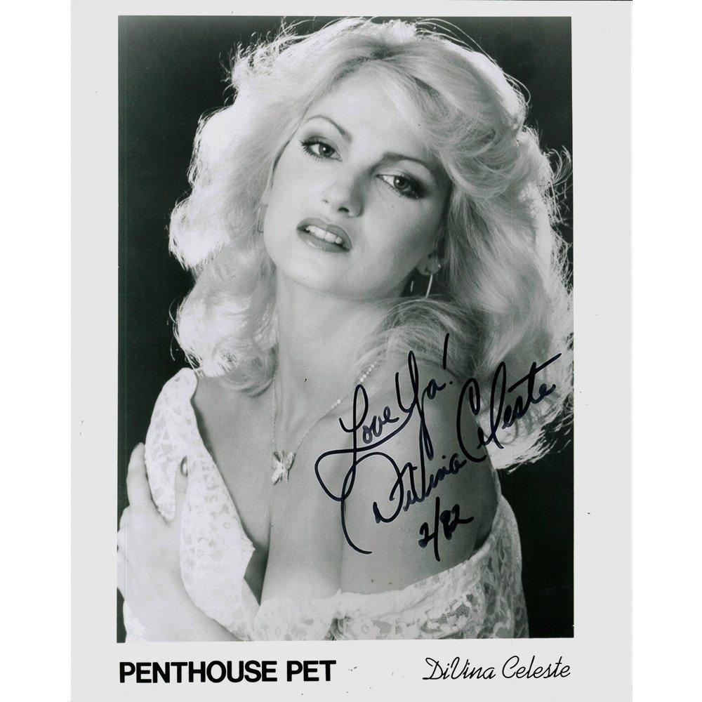 DiVina Celeste Signed B&W Photo