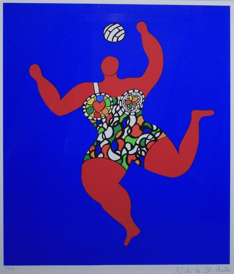 Niki de Saint Phalle (French 1930-2002)
