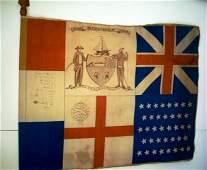 123: 1686-1886 ALBANY BICENTENNIAL FLAG