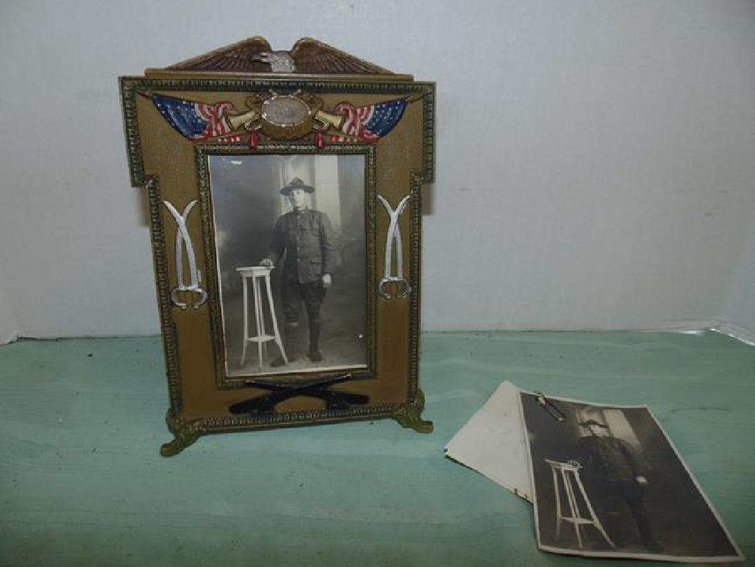 World War I Era Military Picture Frame