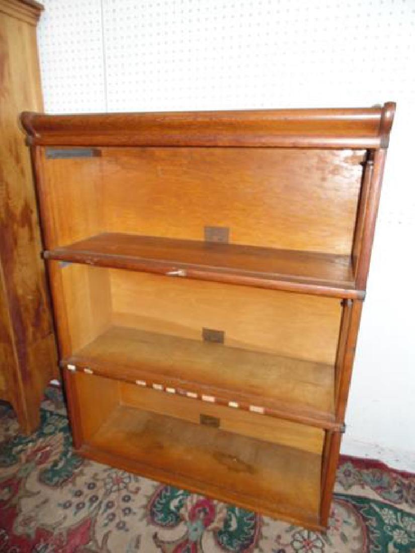 Oak Globe Wernicke Barrister Bookcase Sections