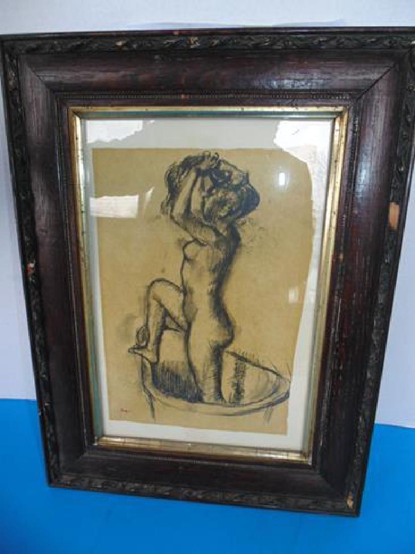 Edgar Degas  Nude Print