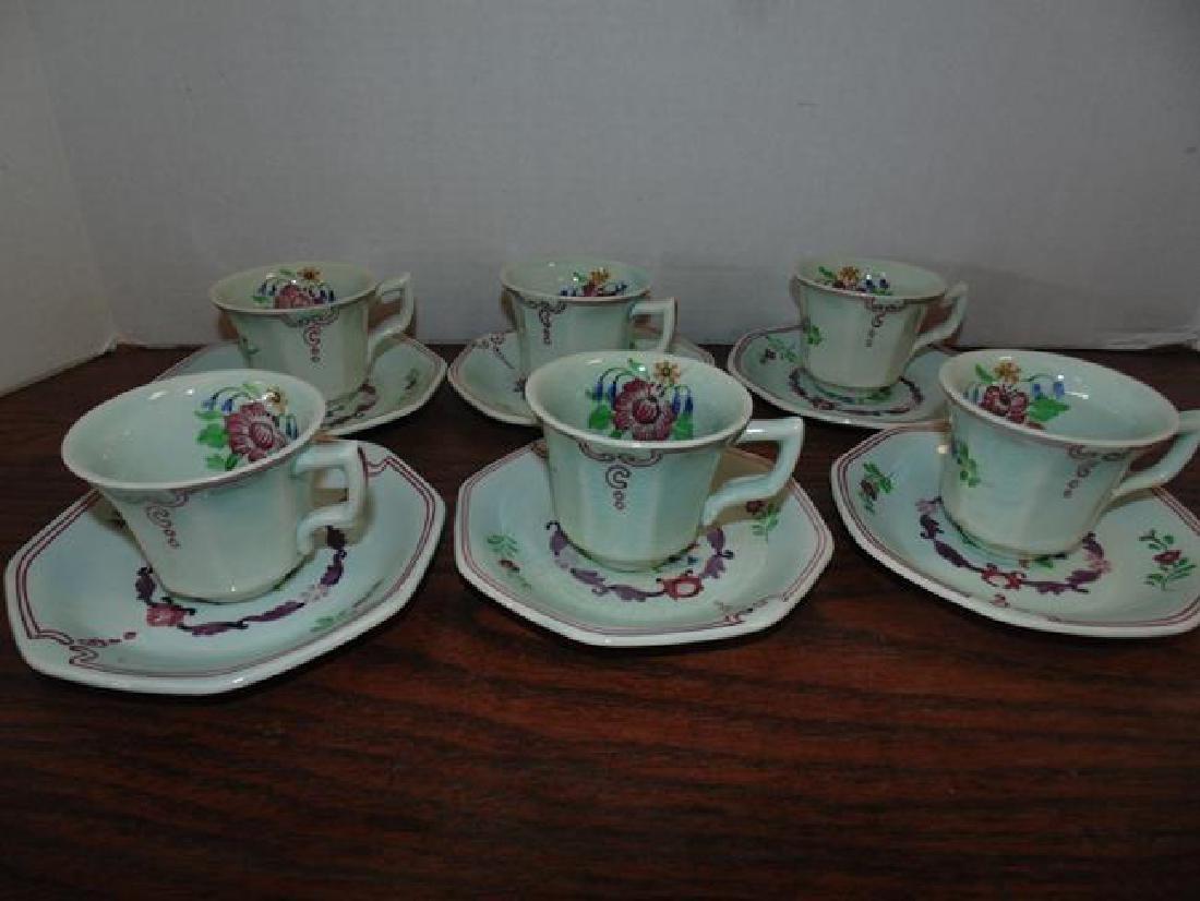 Adams Demitasse Cups & Saucers