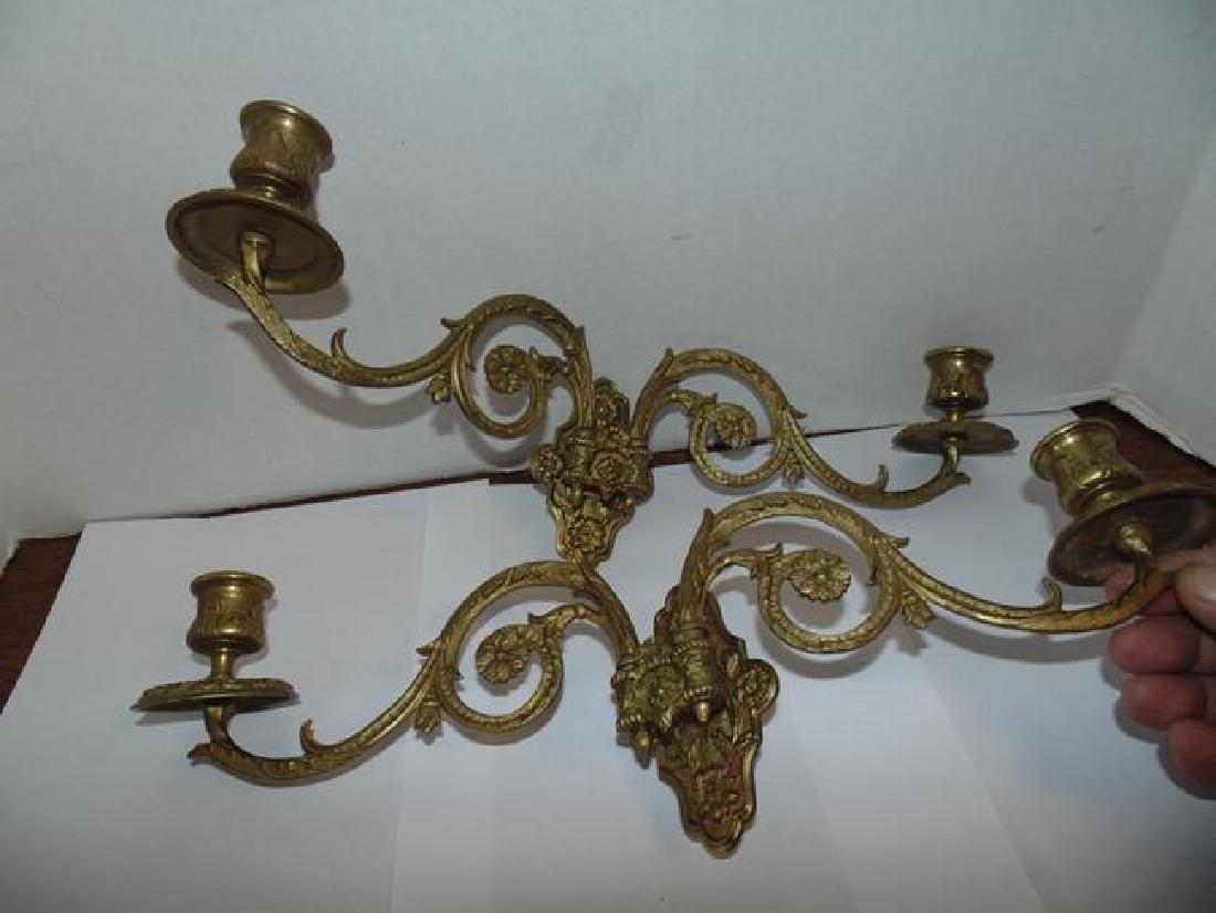 Muller  Paris Brass Candle Sticks
