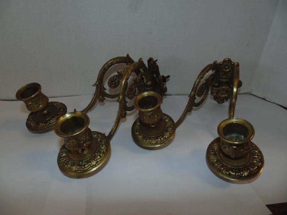 Muller  Paris Brass Candle Sticks - 2