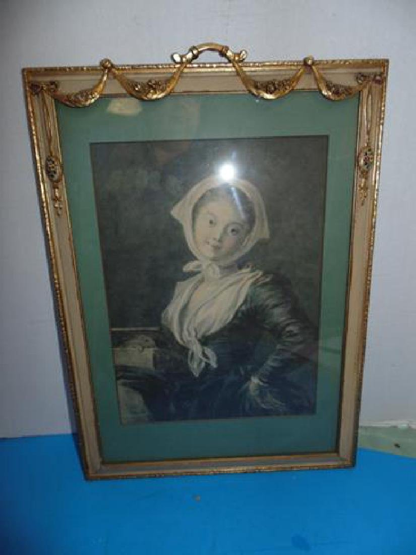 Ornate Gilt Framed Print
