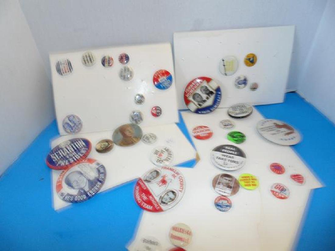 Politcal Buttons