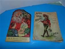 HS Barney Christmas Book & McLoughlin Book